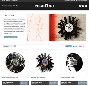 discoclock on casafina