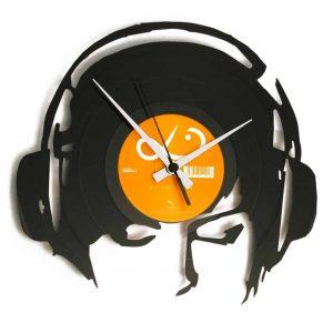 DJANE@WORK stenska ura iz gramofonske plošče