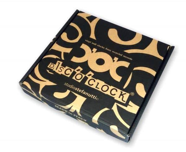 packaging orologi con dischi in vinile