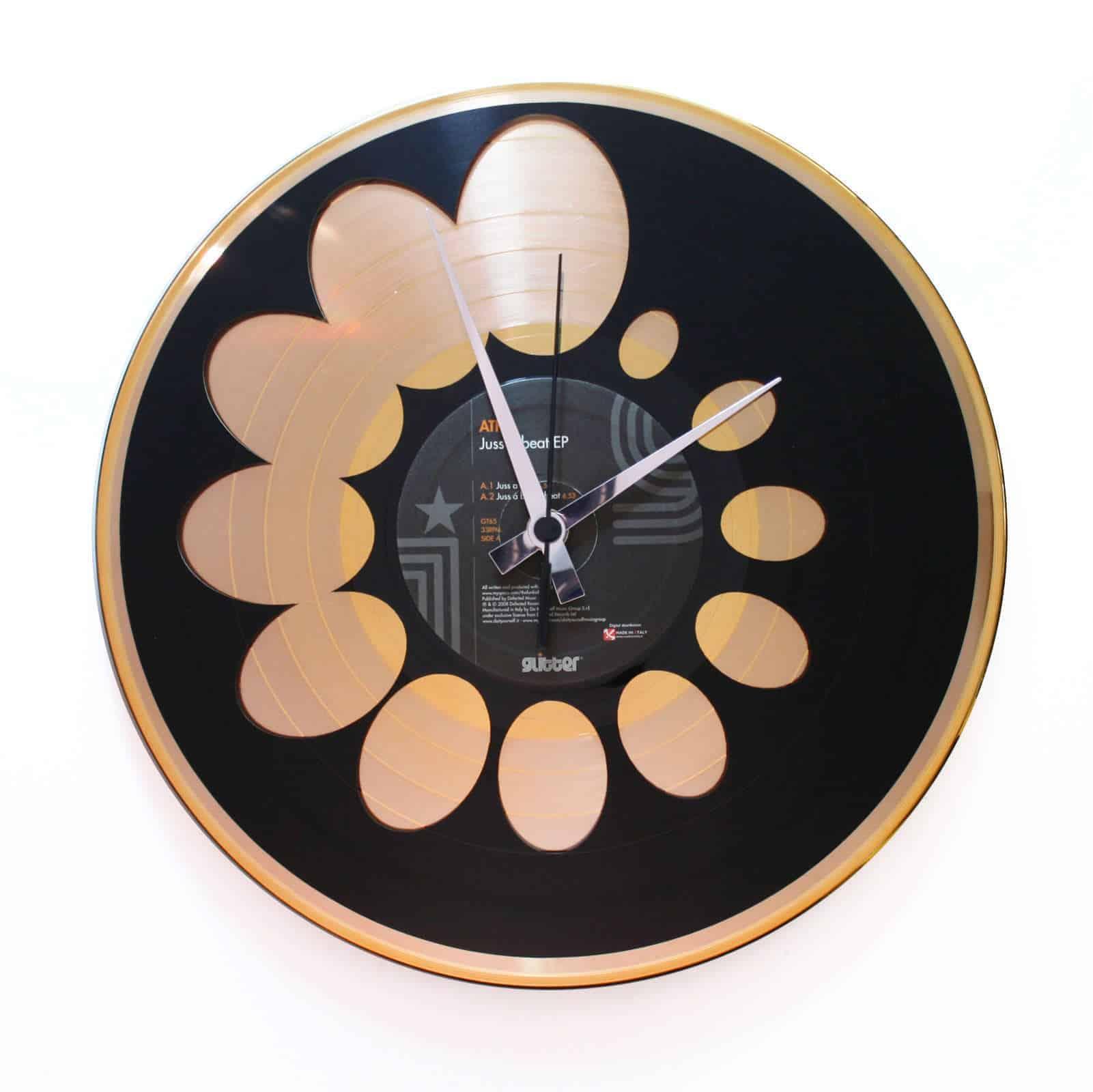 Orologio in Vinile  – QUASI FIBONACCI 2