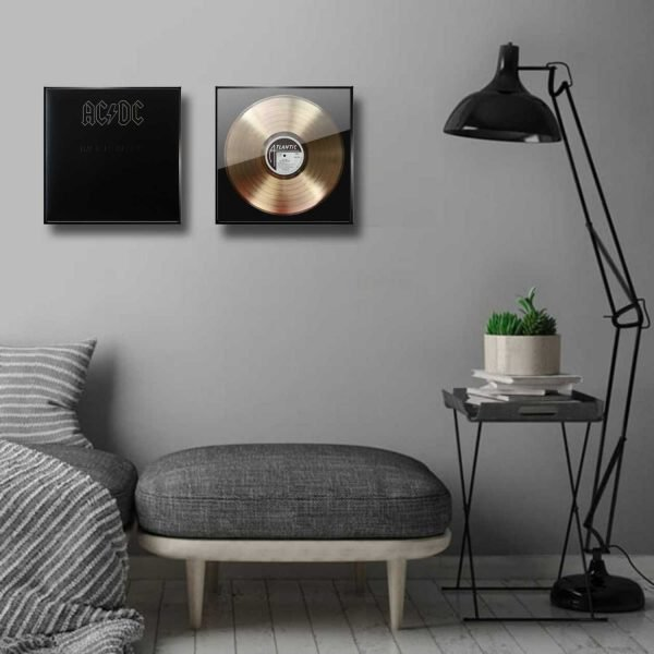 Ac-dc Back in Black Golden Record