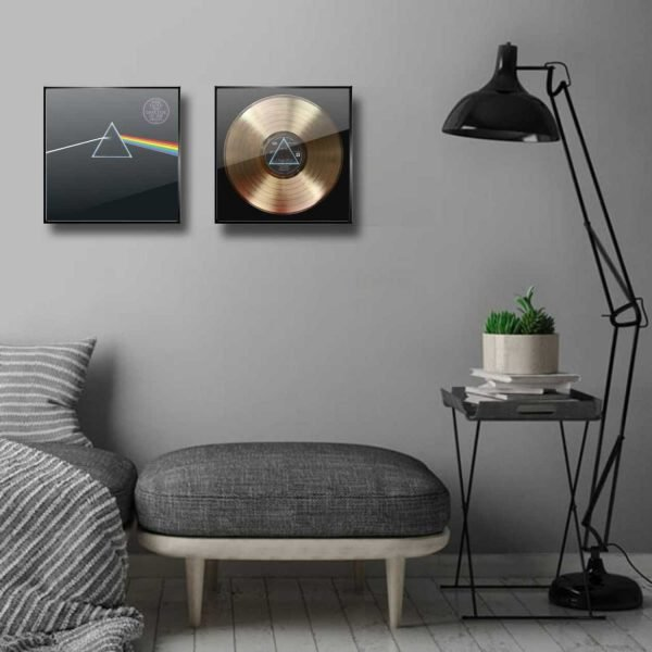 PINK FLOYD The Dark Side of The Moon Golden Record