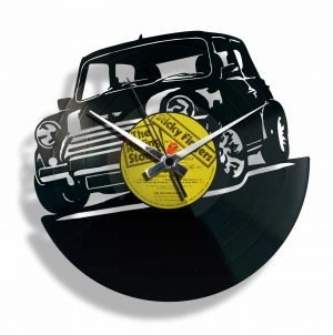 mini vinyl record clock