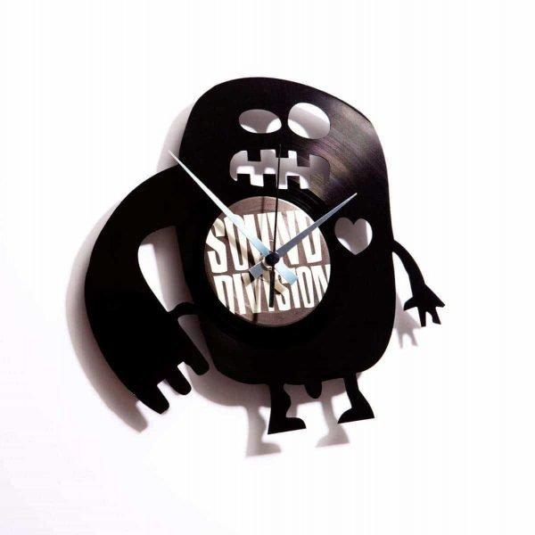 monster vinyl record clock