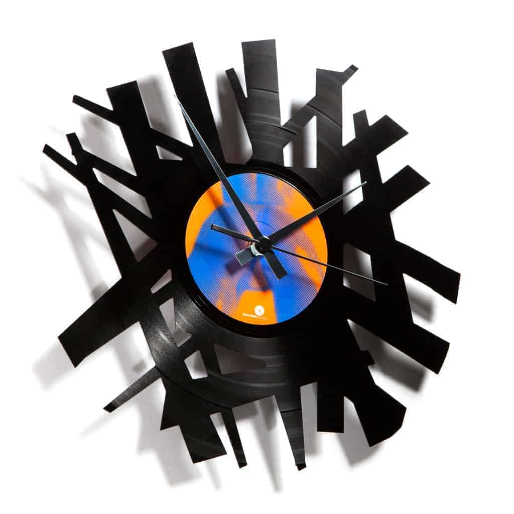 BIG BANG vinyl record clock
