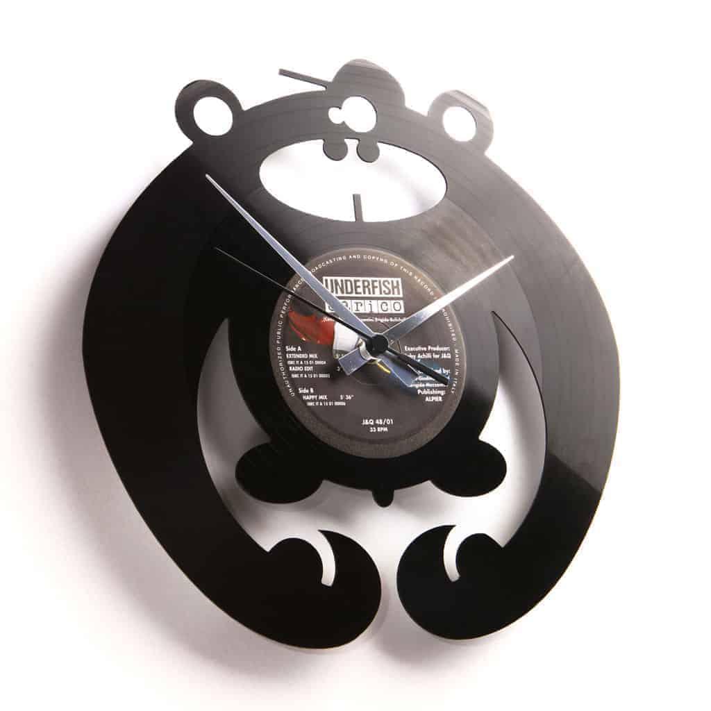 KING OF THE BONGO vinyl record clock