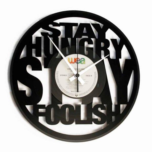 steve jobs record clock