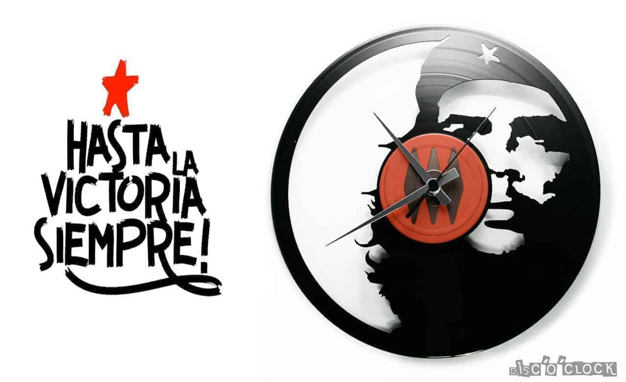 Details about  /LED Vinyl Clock Che Guevara LED Wall Art Decor Clock Original Gift 4316