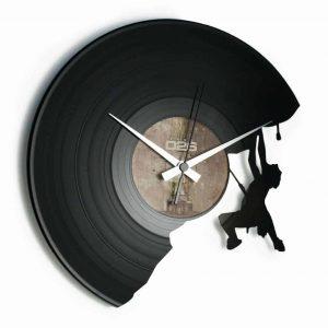 THE CLIMBER vinyl record clock