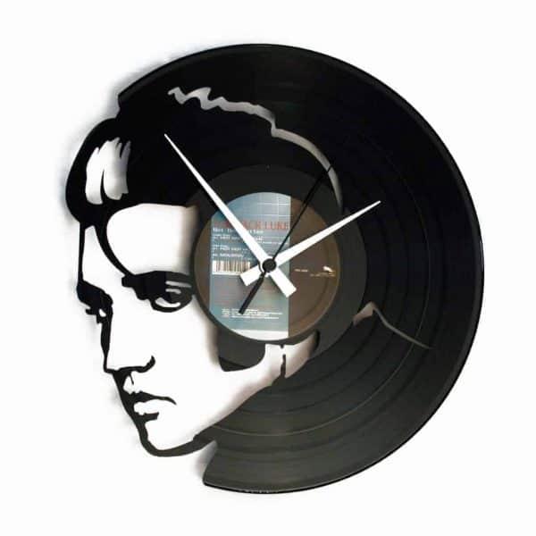 ELVIS VINYL RECORD CLOCK