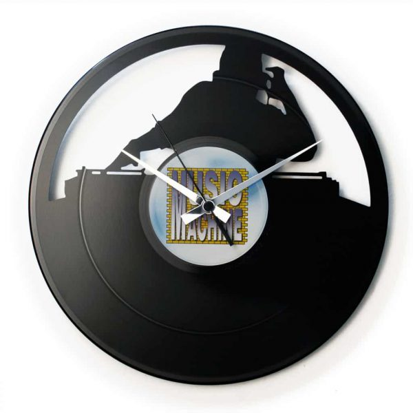 DJ VINYL RECORD CLOCK