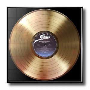 Michael Jackson thriller gold record
