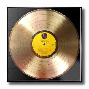MADONNA gold record