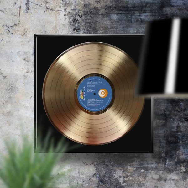 Vasco Rossi Albachiara Golden Record