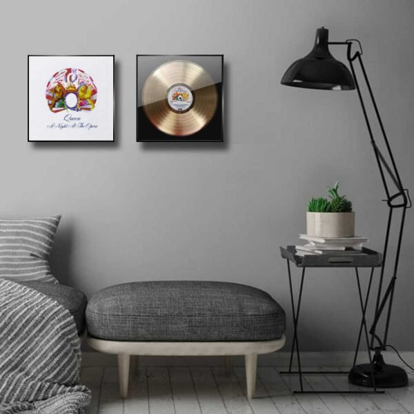 Queen A night at the Opera Golden Record