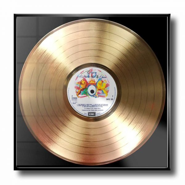 QUEEN GOLD RECORD