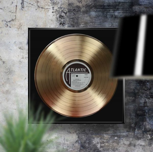 Ac dc Back in Black Golden Record