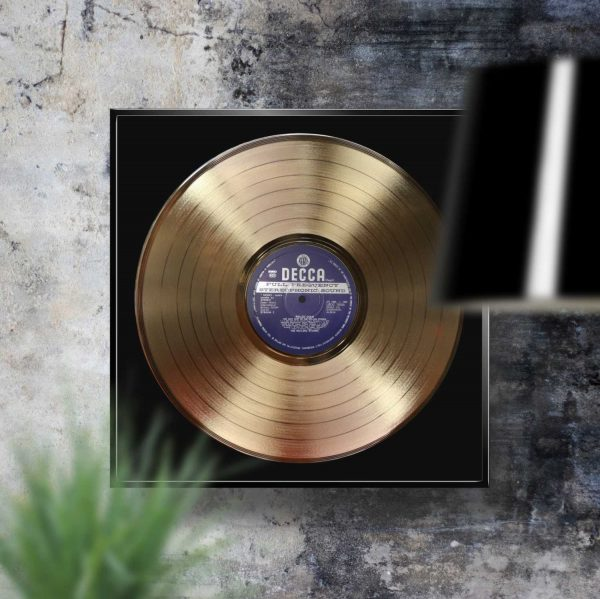 Rolling Stones Rolled Gold Golden Record