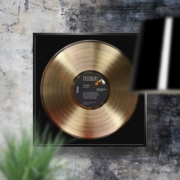 David Bowie Heroes Golden Record