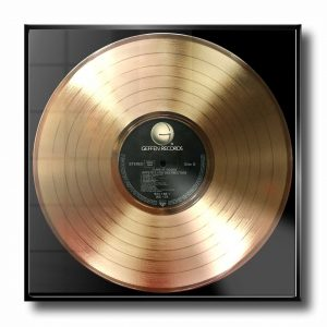 GUNS N ROSES GOLD RECORD