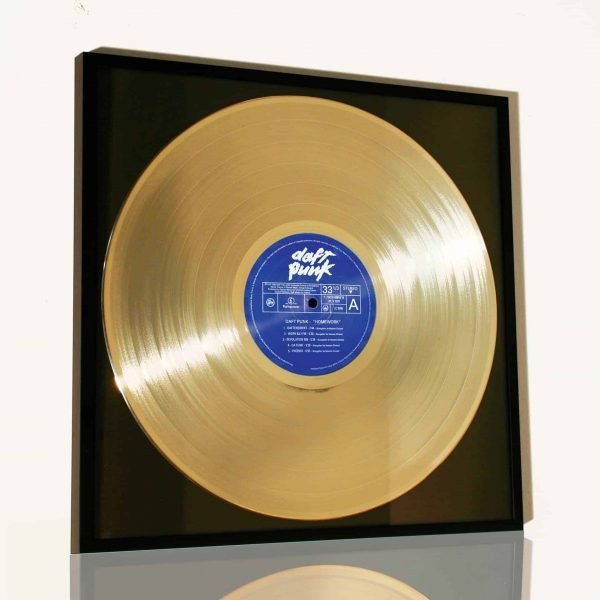 DAFT PUNK – HOMEWORK: FRAMED GOLDEN RECORD