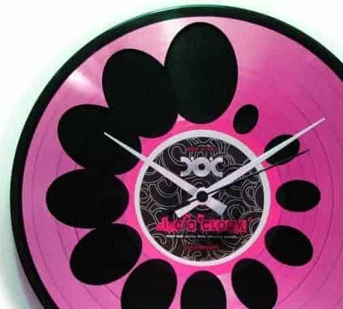 03 - Vinyl Clocks DISC'O'CLOCK - the DOUBLE DECKER REVERSE collection