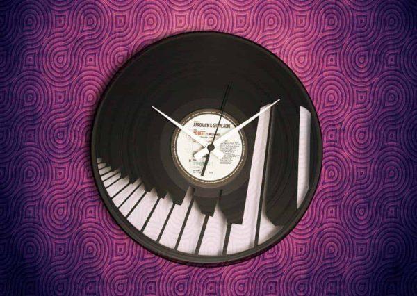 MUSIC INSPIRED VINYL RECORDS CLOCKS