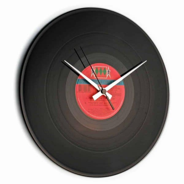 VINYL RECORD CLOCK with RANDOM LABEL