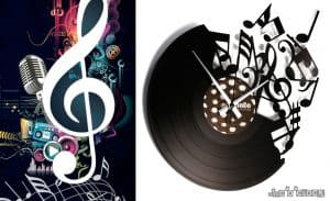 VINYL RECORD CLOCKS - the classic collection