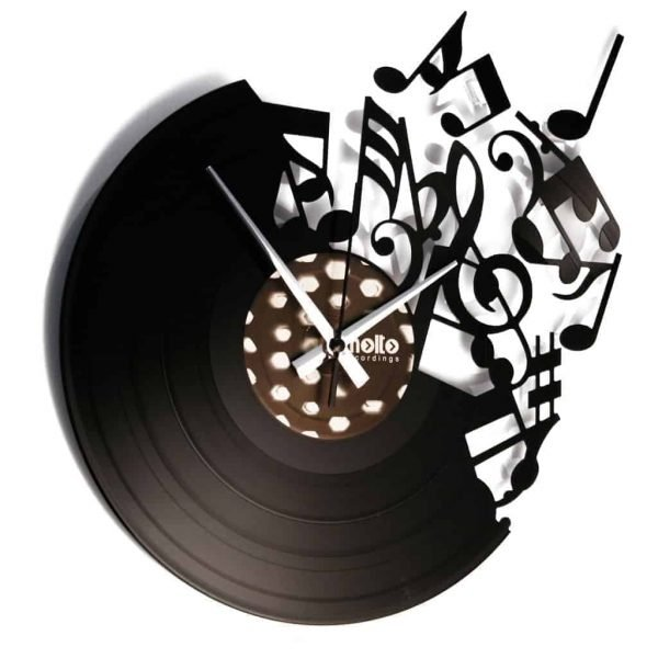 MUSIC (WAS MY FIRST LOVE) vinyl record clock