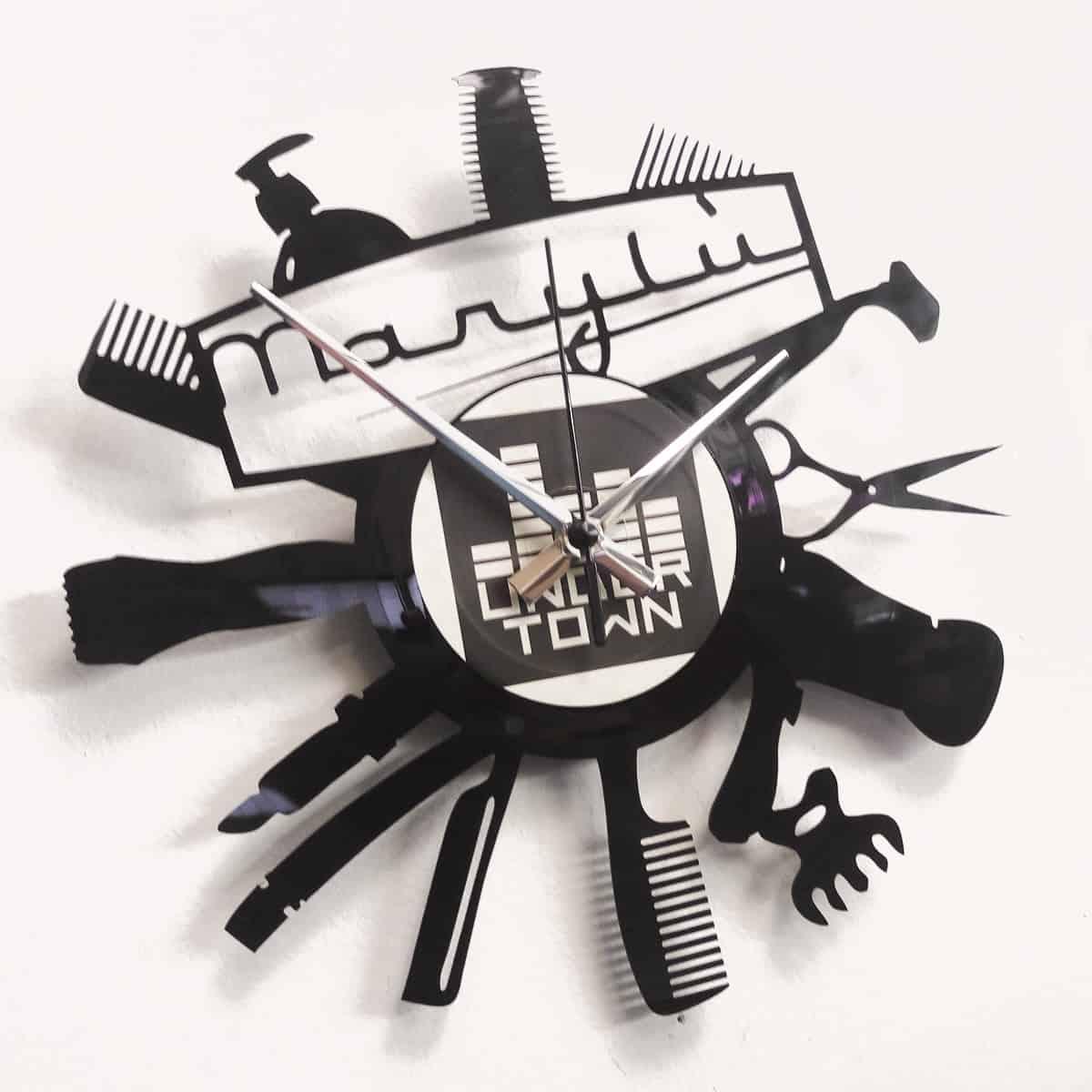 orologio vinile parrucchiera