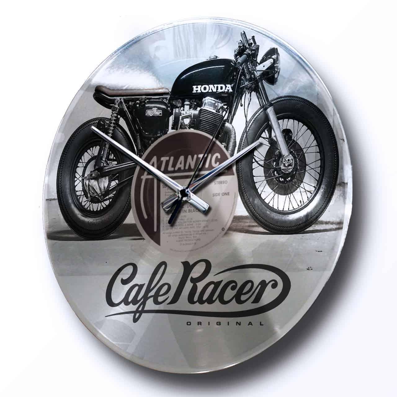 orologio con disco argento e grafica personalizzata