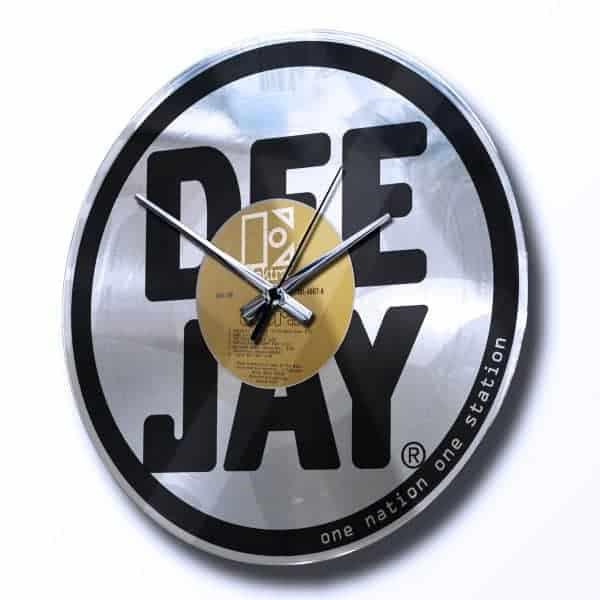 orologio da muro argento stampa personalizzata