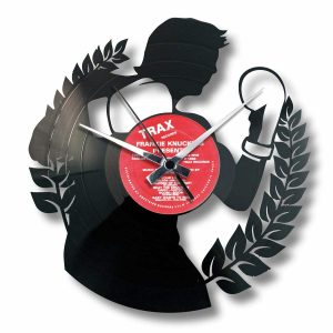 THE BOXER vinyl record clock