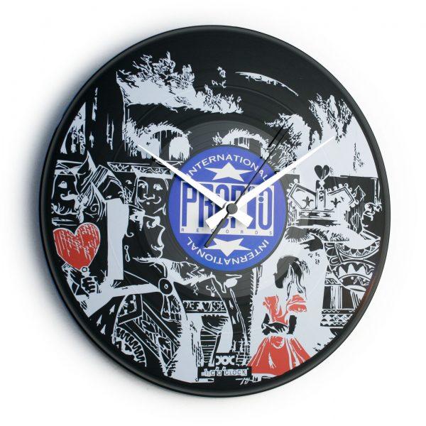 Vinyl record clock with CUSTOM PRINT