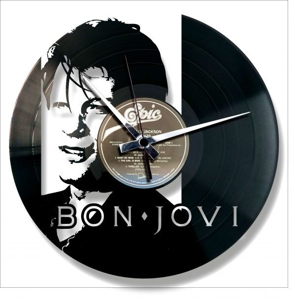 OUT-OF-PRINT vinyl record clock