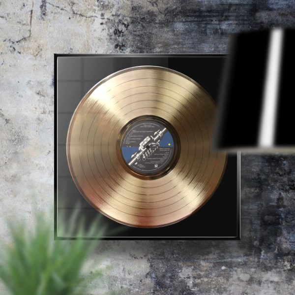 Pink Floyd Wish You Were Here Golden Vinyl Record