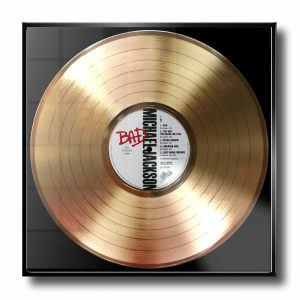 MICHAEL JACKSON GOLD RECORD