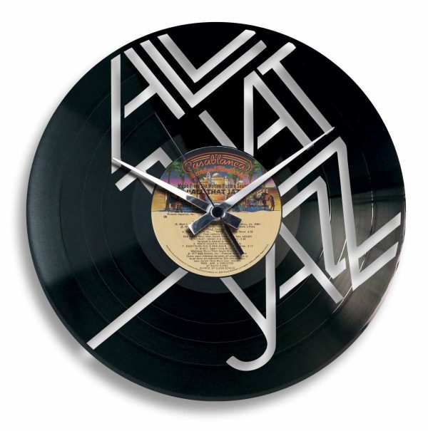 jazz record clock