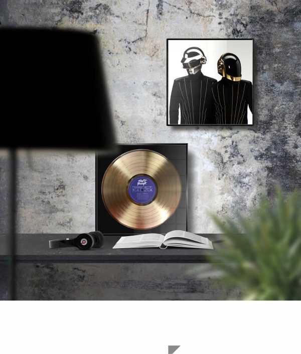 Daft Punk Homework Golden Record