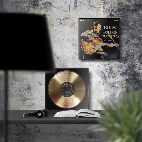 ELVIS PRESLEY GOLD RECORD