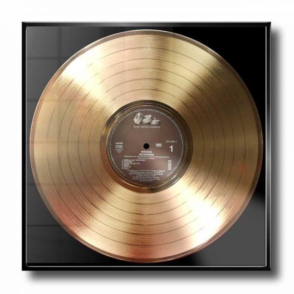 NIRVANA GOLD RECORD