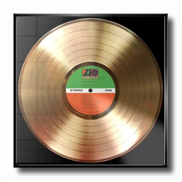 LED ZEPPELIN GOLD RECORD